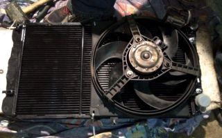 Радиатор охлаждения Лада Калина