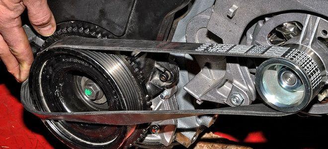 Как снять генератор на Ладе Калине 8 клапанов