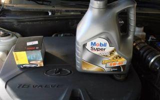 Какое масло лить в Ладу Гранту 8 клапанов