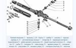Ремкомплект для ремонта или замены рулевой рейки Лада Калина