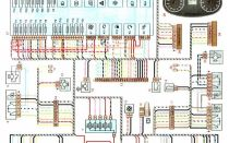 Электросхема Лада Гранта