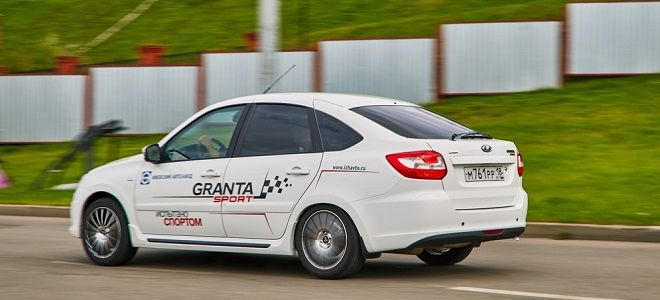 Лада Гранта Спорт характеристики двигателя