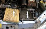 Воздушный фильтр Лада Калина 1 и 2