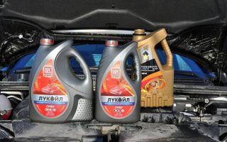 Лада Веста какое масло лить в двигатель