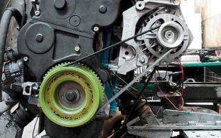 Лада Калина 1 и 2 замена ремня генератора с кондиционером
