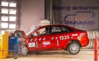 Лада Веста Краш-тест Euroncap