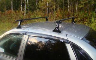 Багажник на крышу автомобиля на Лада Гранта