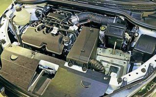 Какой двигатель стоит на Лада Веста