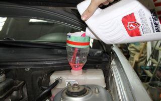 Замена охлаждающей жидкости Лада Приора