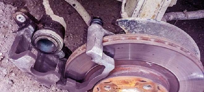 Колодки на Ладу Гранту тормозные передние