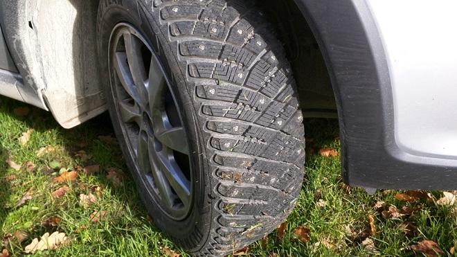 размер колес калина