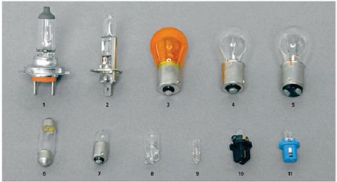 лампа габаритов калина