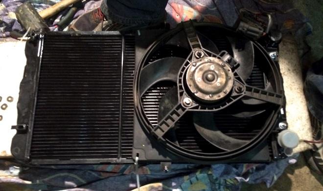 радиатор на калину